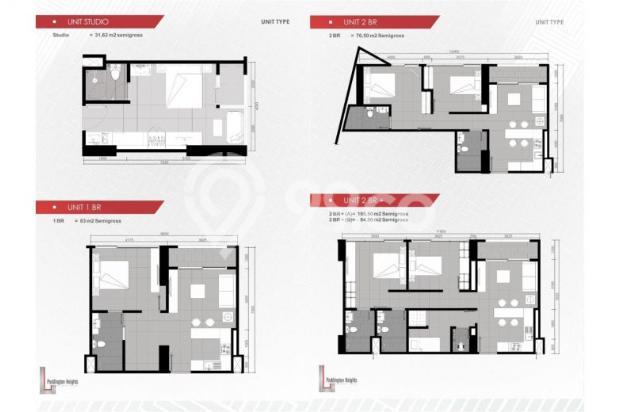 Apartemen Paddington Heights Alam Sutera, Siap Huni 7608504