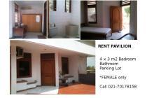 Kontrakan/Guest House Bintaro - for female