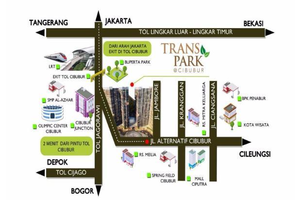 Apartemen studio trans park cibubur tower A