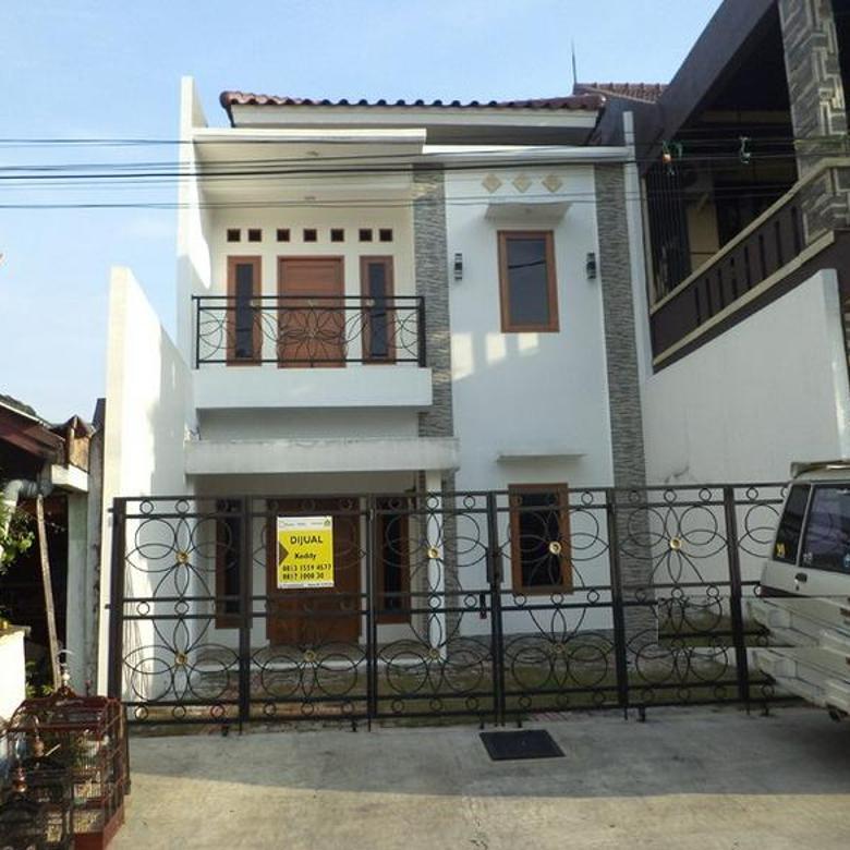 Rumah 2 Lantai di Depok Timur, Akses Jalan 2 Mobil, Lokasi Strategis