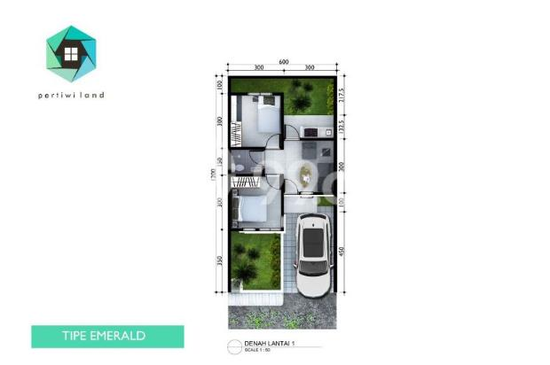 Rumah Murah di Bandung. Cicilan 2,1 Jt/bln. DP dapat dicicil. Bunga Fix 5th 16772630