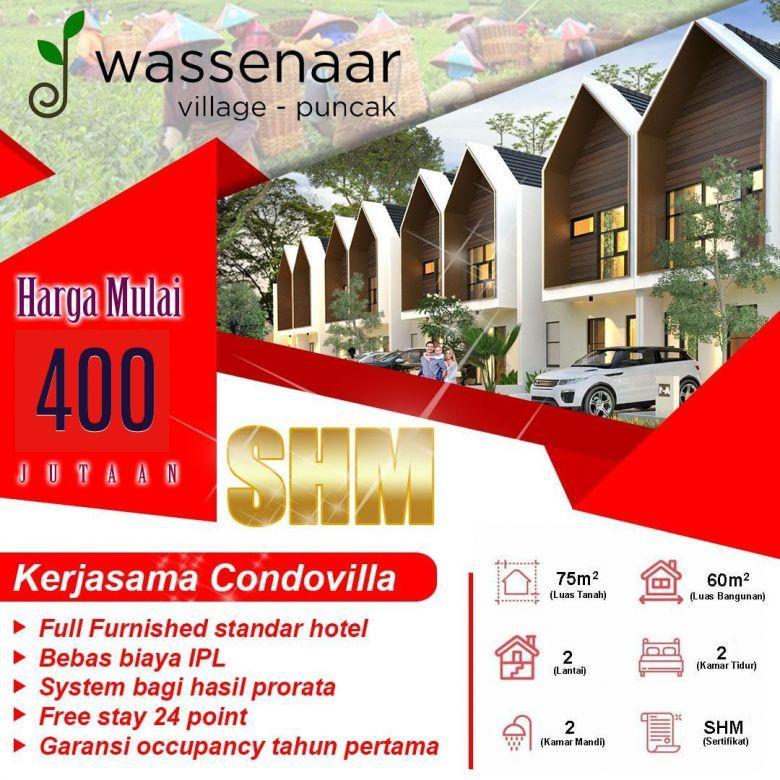 Investasi Villa Pertama Di Puncak Fasilitas Villatel Managemen