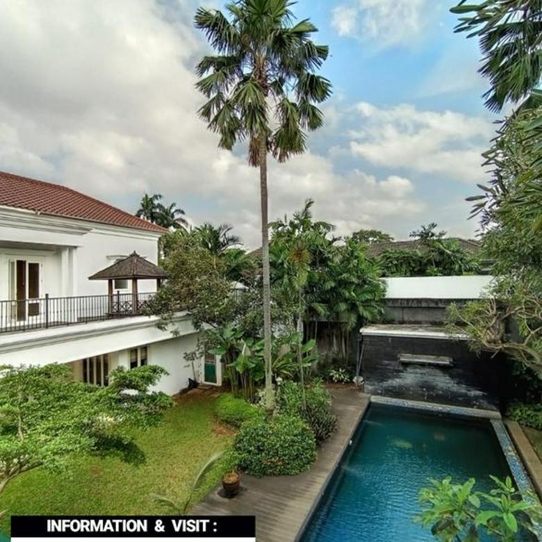 RUMAH LUAS MEWAH at Jl SRIWIJAYA, KEBAYORAN BARU, JAKSEL