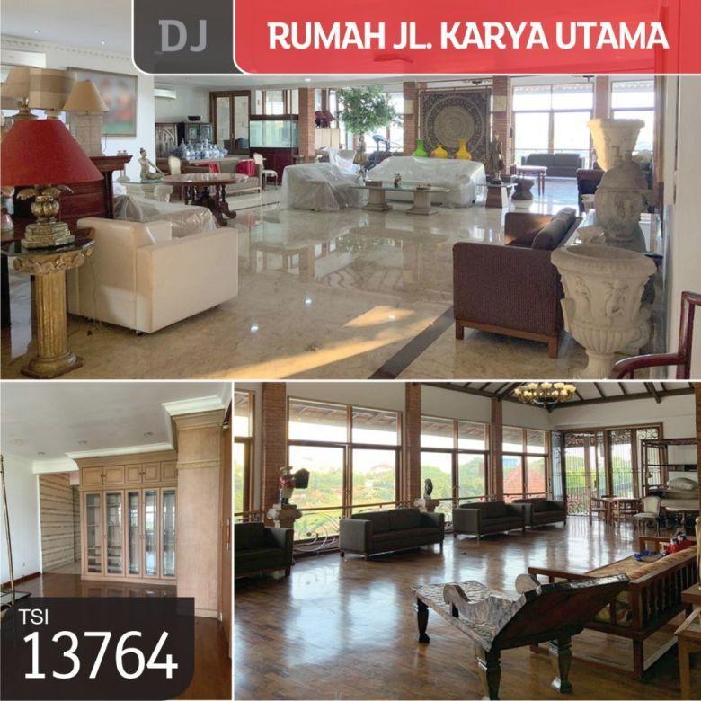 Rumah Jl. Karya Utama, Jakarta Barat, 2.160 m², 2Lt, HGB