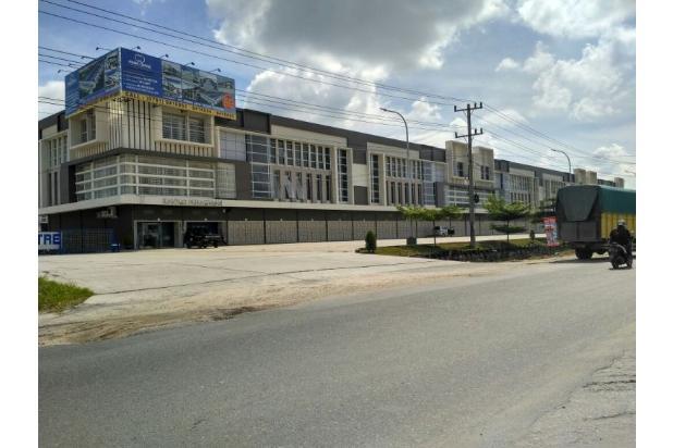 dijual gudang prima centre pekanbaru tanpa dp