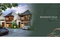 Villa 10 menit dari denpasar dengan riverside view