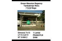 Rumah murah green mansion tambakrejo waru sidoarjo surabaya ne