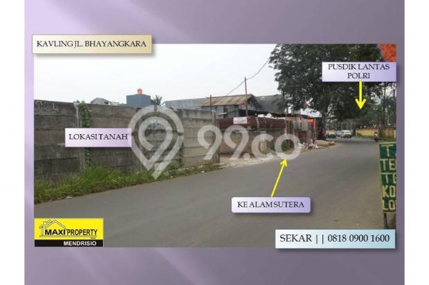 Dijual Cepat Tanah Jl Bhayangkara Dekat Alam Sutera Lokasi Strategis 11959515