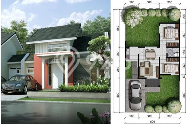 Rumah Modern Type 42/120 Citra Indah City 6576579