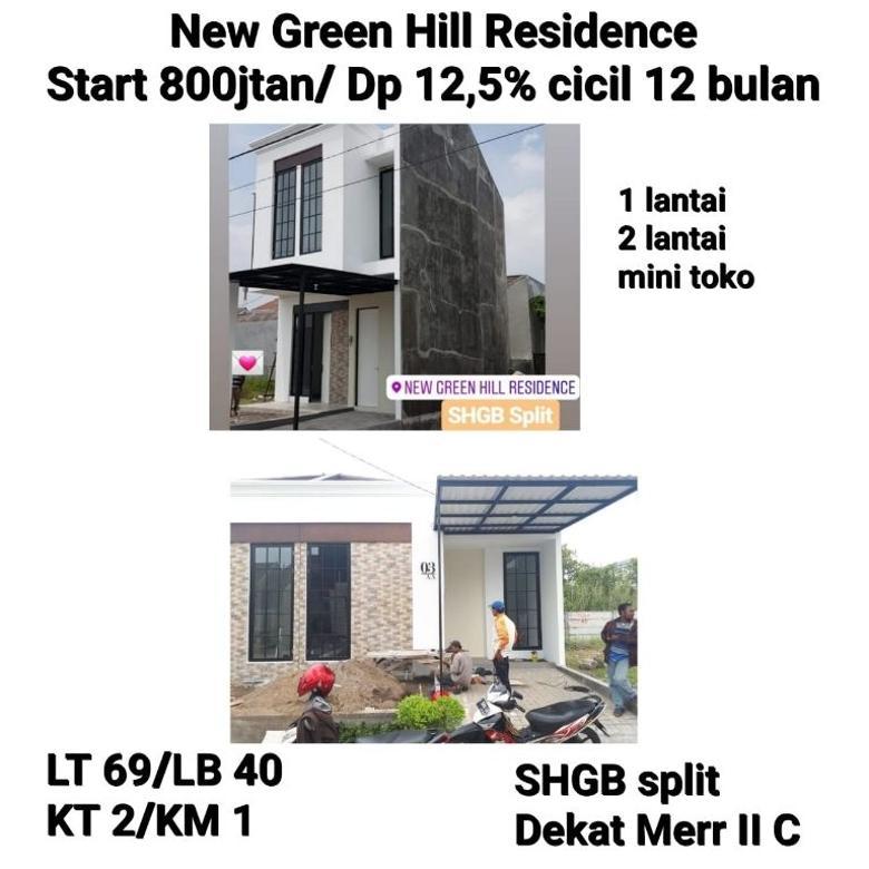 Rumah New Green Hill Gunung Anyar Rungkut Siap Huni Minimalis