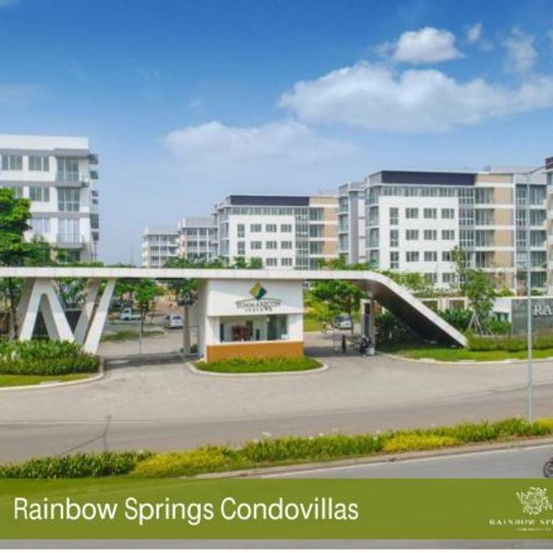 Apartemen Lowrise Cantik Rainbow Springs Summarecon Serpong