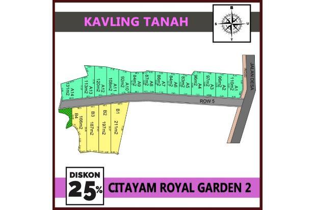 Bukan Saaatnya Lagi Beli Rumah, Saatnya Beli Kavling Tanah di Citayam Royal 22206945