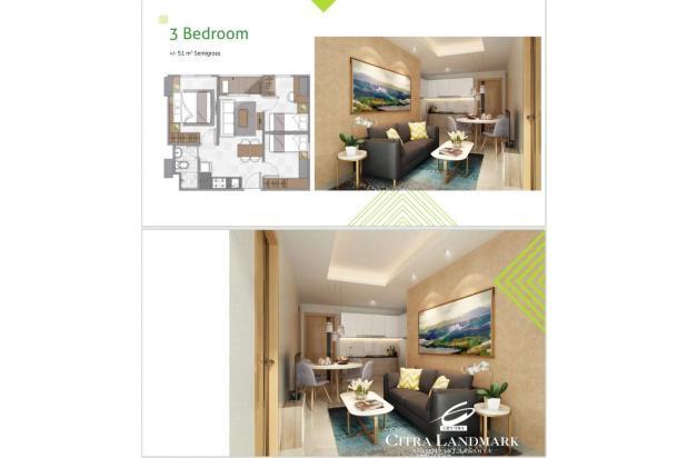 Rp612jt Apartemen Dijual