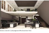Disewakan Apartemen Neo Soho Podomoro 1BR Kosong Di Jakarta