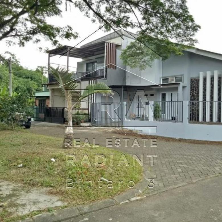 Rumah Dijual Siap Huni di Kencana Loka BSD, Posisi Hook