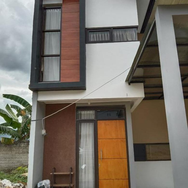 Rumah 2 lantai One Gate System DP Suka-suka Dekat Tol Soreang Bandung