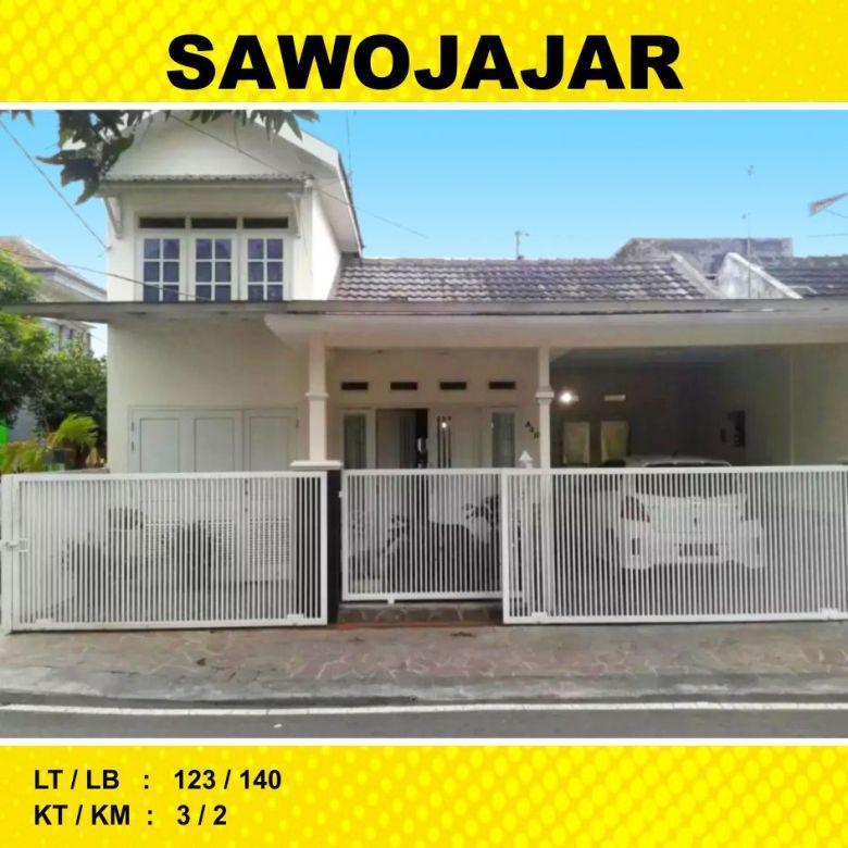 Rumah 2 Lantai Luas 123 di Sawojajar 1 kota Malang _ 151A