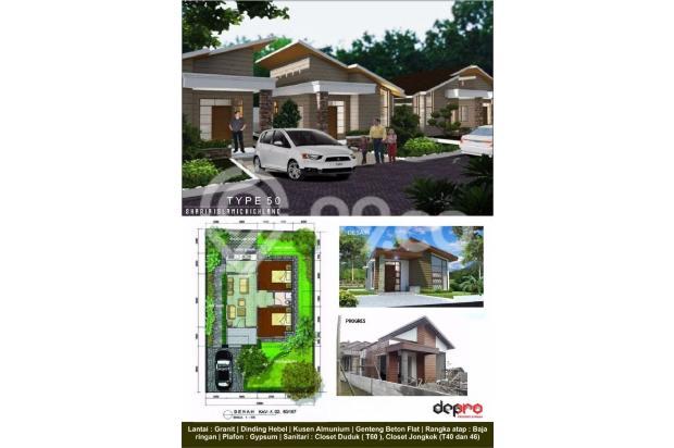 Rumah Murah Mewah skema Syariah di Kawasan Wisata Lembang Bandung Barat 14101533