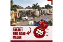 Rumah Baru Pasar 1 Ring Road Medan - Cluster Jannati Regency
