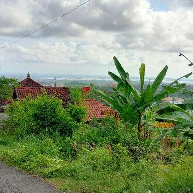 LOKASI CANTIK!! Tanah 21,5 Are VIEW LAUT di Jalan Utama Uluwatu, Jimbaran