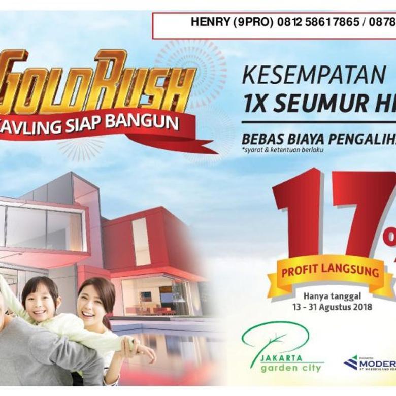 **** Promo Merdeka Jakarta GArden City - Disc sd 17% Promo Terbatas ****