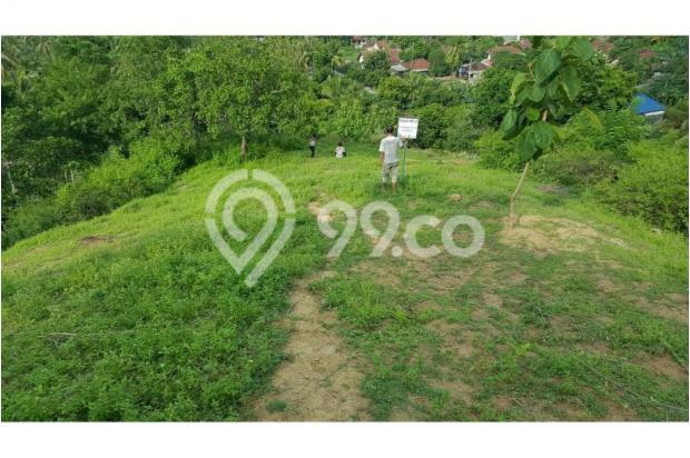 Tanah di Bukit Sekotong - Lombok Barat dengan pemandangan laut dan Gili 12960447
