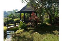 Villa Dago Kencana ada Gazebo Indah di belakang