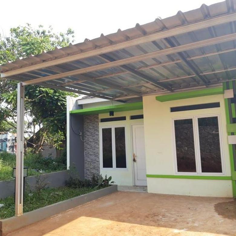 Rumah baru pinggir jalan raya, 15 menit dari stasiun citayam  di lalui angkutan umum