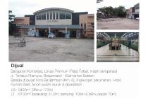 Bangunan komersial dijual. lokasi premium (Plaza Futsal , masih beroperasi