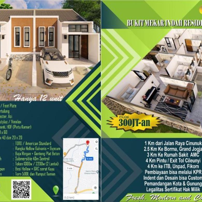 Promo Rumah Baru dekat Tol Cileunyi Bandung dan Jatinangor