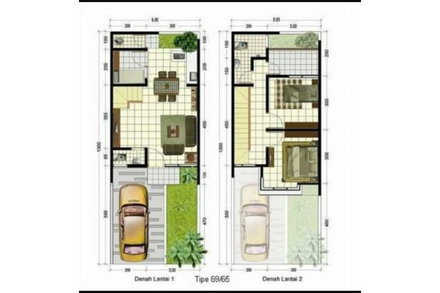 Rumah Mewah 2 Lantai , Bangunan Baru 16358889