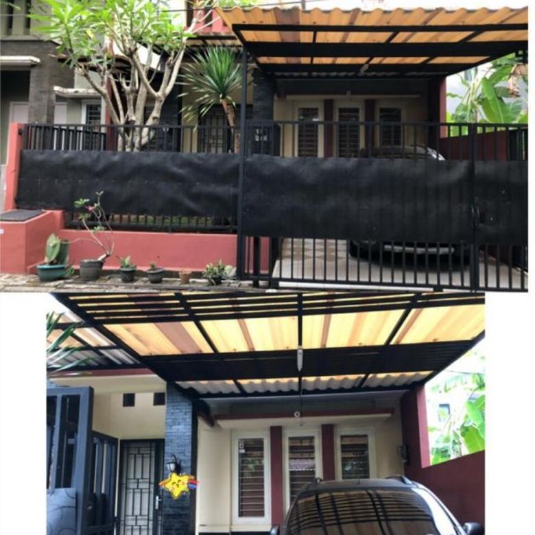 Rumah Modern Minimalis Samping Tol, Cluster Nusaloka BSD, Fasilitas Lengkap