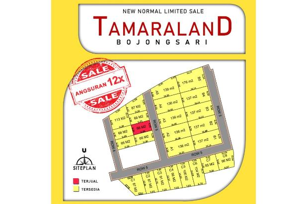 Rp296jt Tanah Dijual