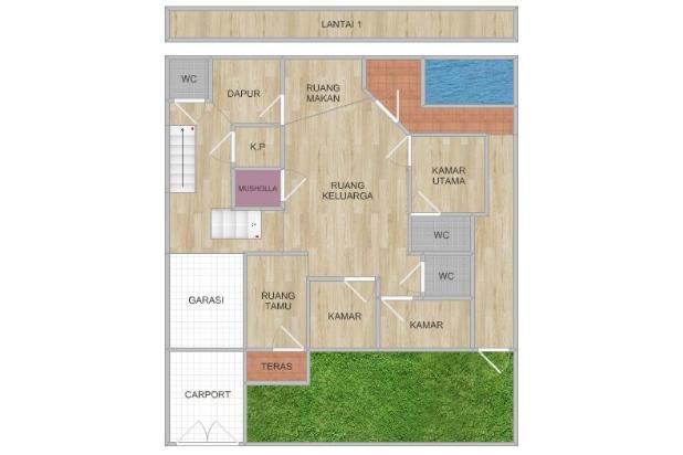 Rumah 4KT Siap Huni, Cakung 15356830