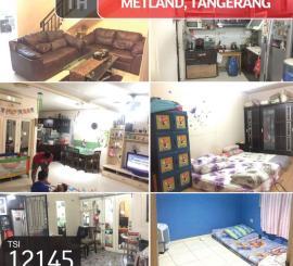 Rumah Metland, Tangerang, 8x20m, 2½ Lt, SHM