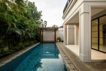 Townhouse Gaya Eropa Di Kemang Jakarta Selatan Ada Swimming Pool