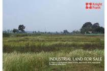 Industrial Land for Sale at Karawang