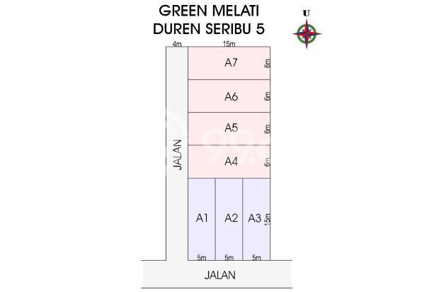 Cara Hemat 100 Jt, Bangun Rumah Sendiri: Mufiid Land Bojongsari 17699234