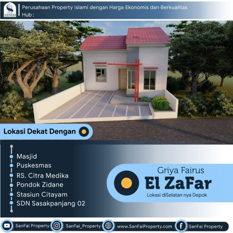 Rumah Syariah Dekat Stasiun Citayam Harga 200an