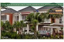 DIJUAL CEPAT Rumah Palm 8X17 hadap POOL di Summarecon Bekasi