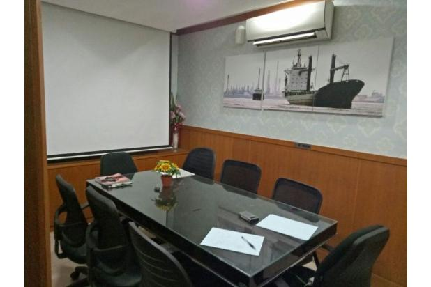 furnished, ruang kantor di grand slipi tower lantai 15