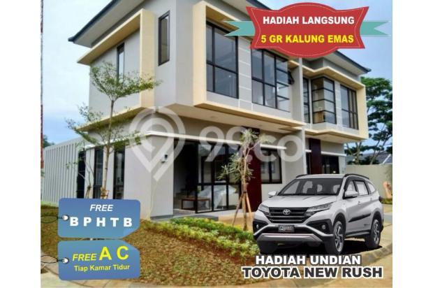 Dijual Rumah Cluster 2 Lantai Bebas Banjir di Jatiasih, Bekasi 17327263