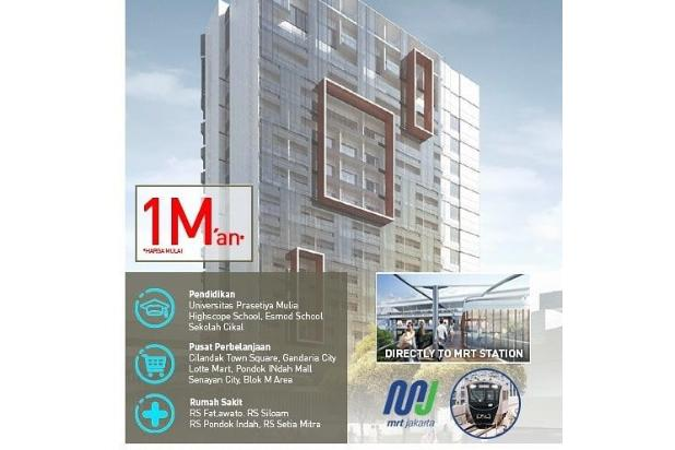 Rp1,02mily Apartemen Dijual