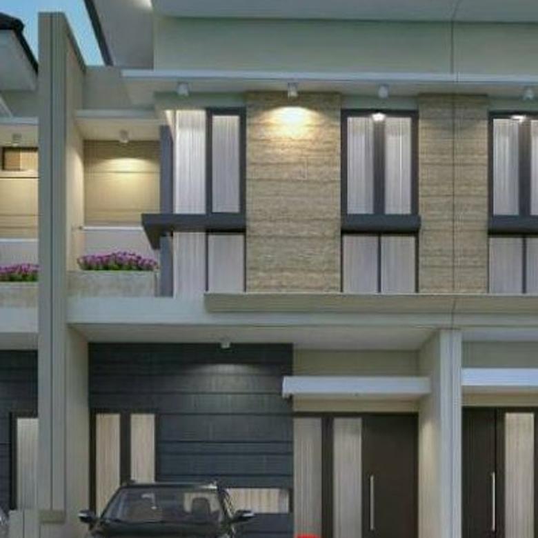 Rumah baru 2 lantai model modern minimalis di Pandugo Surabaya