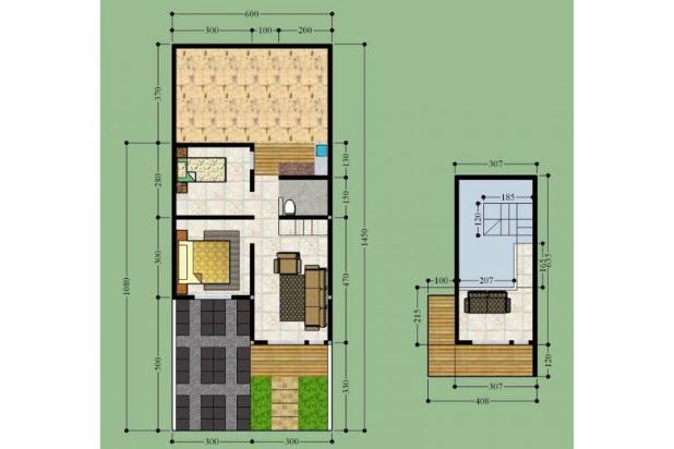 RUMAH DIJUAL Rumah Murah Baru Cluster Minimalis Desain