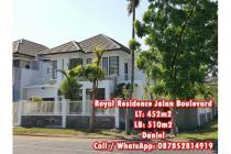 Rumah Minimalis Hunian atau Usaha Jalan Utama Royal Residence