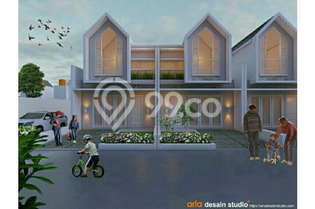 Rumah 2 lantai murah di Cihanjuang Cimahi, Strategis Dekat jalur Angkot 17996170