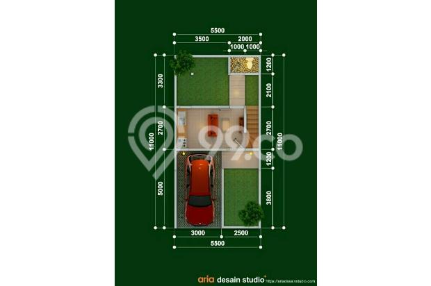 Rumah 2 lantai murah di Cihanjuang Cimahi, Strategis Dekat jalur Angkot 17996232