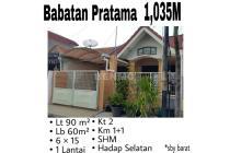 Rumah Babatan Pratama Wiyung Fresh Siap Huni Terawat Nego