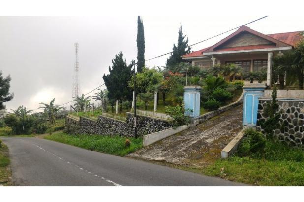 villa bagus 876 m2 di tepi jalan tawangmangu, karanganyar